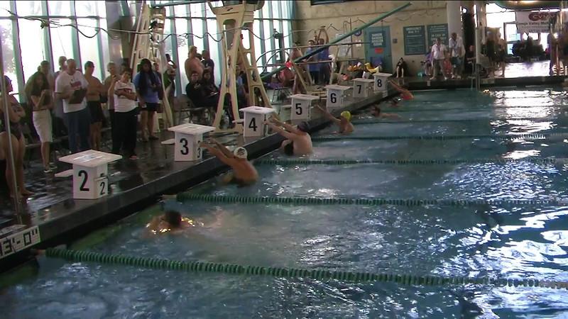 Mixed 400m Medley Relay Heat 4 - 2013 SPMS Regional Championships, Commerce, Ca