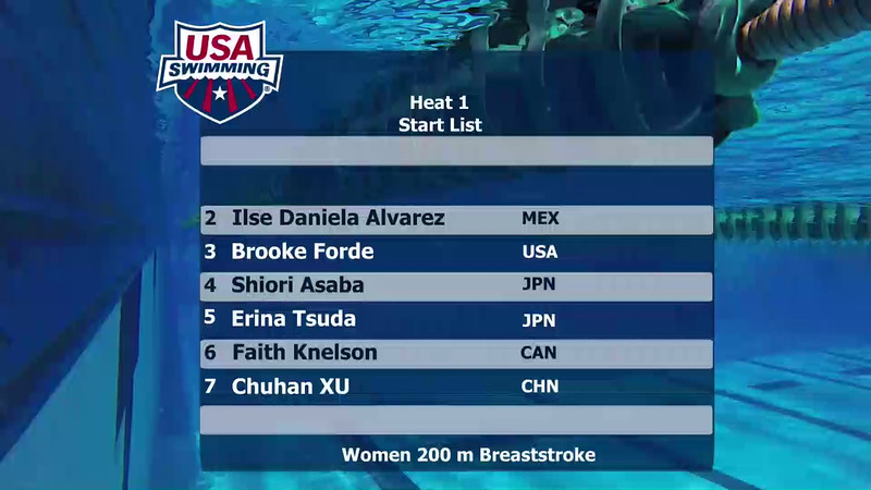 Heat 1 | Event 29 Womens 200 Butterfly | 2016 Jr Pan Pacific Championships