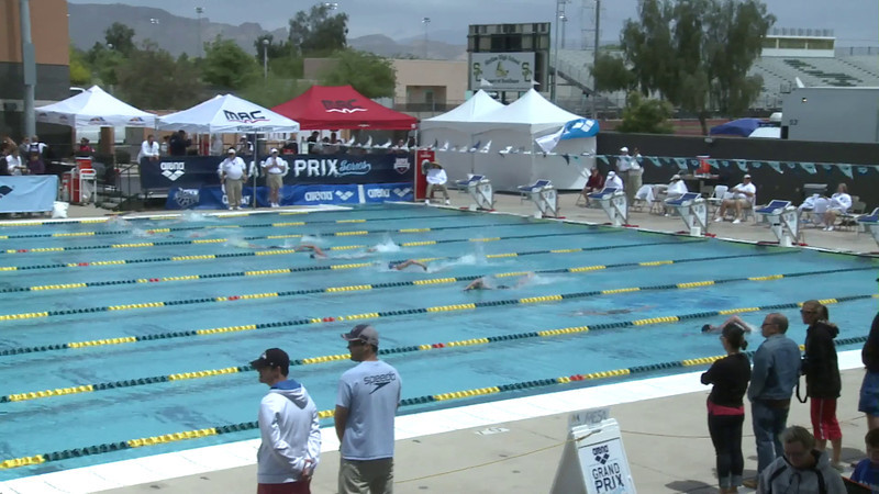 Women's 800 Freestyle Heat 2 - Arena Grand Prix -  Mesa, Arizona
