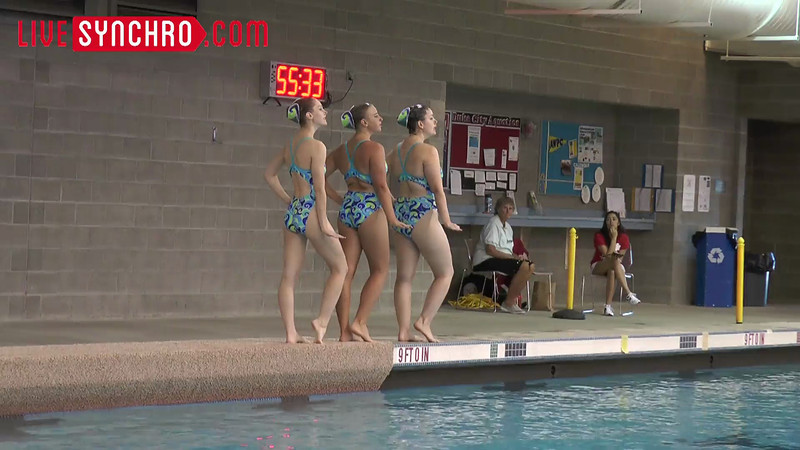 E29 H01 - Marghurette BLAND, Kirstin HAHN, Britteny HESS - Missouri Synchro Masters 13tl51tv