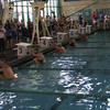 Mixed 400m Medley Relay Heat 1 - 2013 SPMS Regional Championships, Commerce, Ca