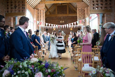swallows nest barn wedding photographer warwck