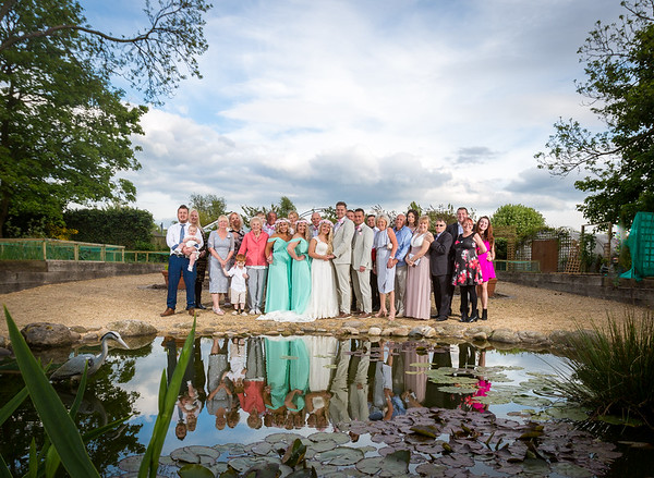 Jasmine and Clayton celebrated their wedding at Ribby Hall, we used the incredible gardens for their formal and quiet time pics