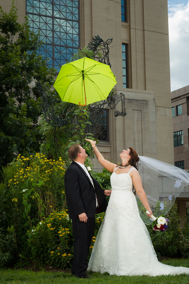 """We enjoyed working with you both, and couldn't be happier with the pics! Our guests loved the slideshow, and were impressed with the 'same day' shots. We'd be happy to give you a recommendation any time!"""" –Kris & Bryan 9.01.2012"