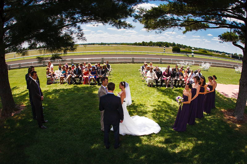 """""""We LOVED working with Matt and Wendy as our wedding photographers!! They were enthusiastic, funny and so easy to work with. We are from Texas, so it was a comfort to have someone who knew Keeneland so well and knew the best places to take pictures. The pictures are just beautiful and we have received tons of compliments from people!!"""" -Lindsey & Aaron 6.08.2012"""