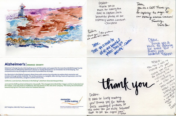 Thanks from Alzheimer's Orange County