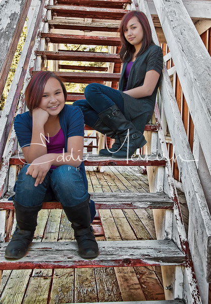 We had the pleasure of having Eddie for a special photo shoot of our daughters, a 12 and 16-year old; both, with conflicting personalities. As any parent or sibling can imagine, that can be a challenge in itself - teenagers with conflicting personalities! Eddie was patient, knew how to relate to both personalities and somehow, got them enthusiastic and working together! We were amazed at not only how Eddie was able to work with the girls, but his creativity with the photo shoot. Everything from location, setup, poses, etc. We thoroughly enjoyed our experience with Eddie, but even more - the outcome! Eddie exceeded our expectations with the quality of the photos. and how he was able to both bring out and capture the individual personalities of our girls. We are eager to have Eddie for our family photo. shoot soon!<br /> <br /> -- Quang and Patricia L.