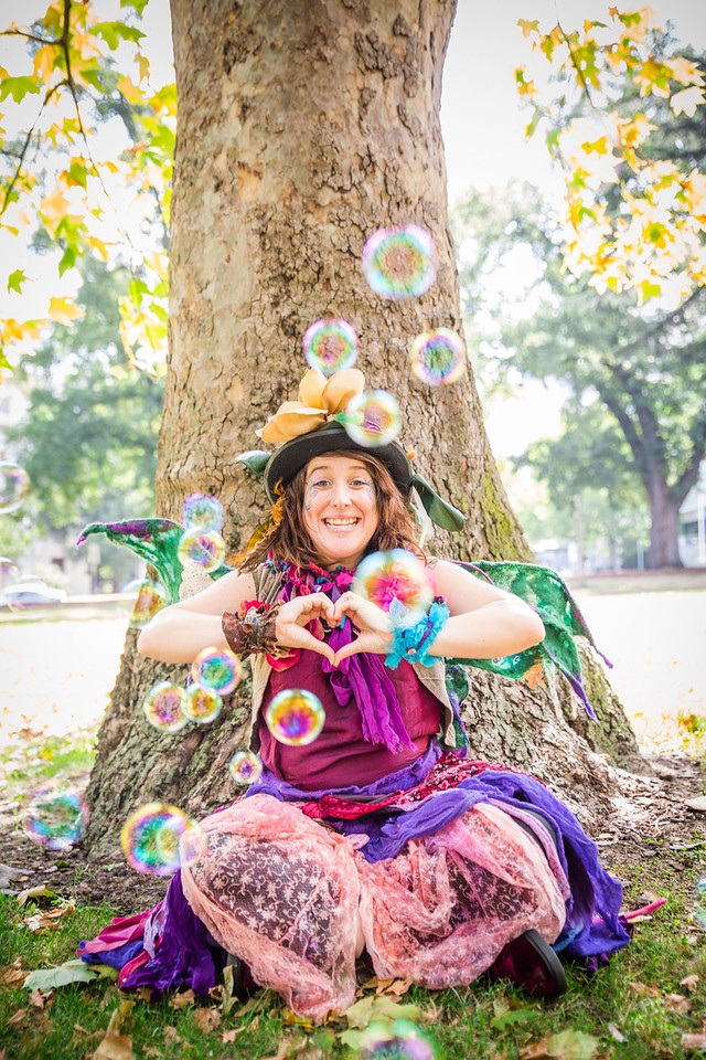 Faerie Sarah - Enchanted Earth Folk