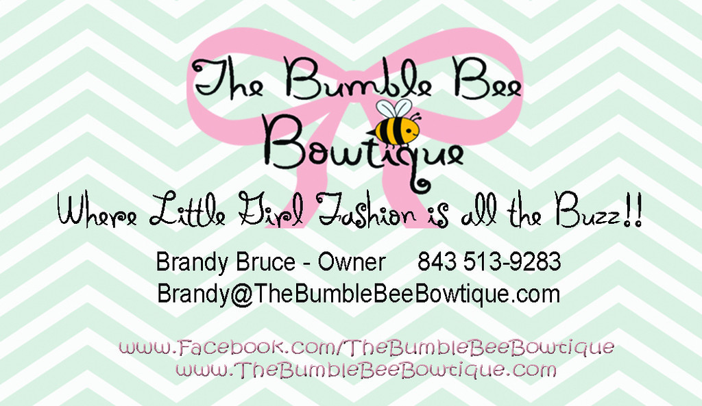 Logo Design / Commercial / Portraits - I would like to take a moment to say a huge THANK YOU to Sweetgrass Photography & Graphics for all of the great pictures and hard work they have done for The Bumble Bee Bowtique. Leta and Joy are true professionals and exceptional photographers.