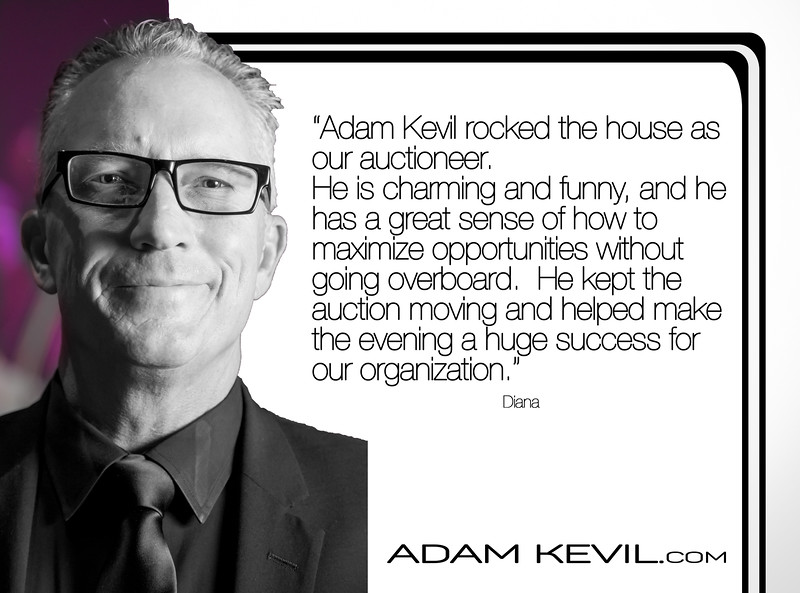 Adam Kevil Fundraising Auction Specialist