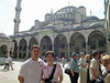 Blue Mosque courtyard Chris Janet