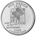 State New Mexico 225sq