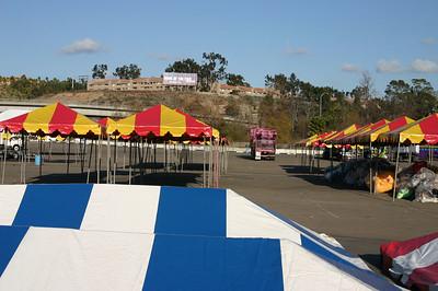 Tet Festival Set-up Wednesday 1/25/06