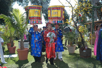 Tet Festival 2008 - Mock Wedding