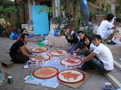Cultural Village Work Party