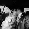 romantic kiss in the car