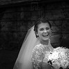 Bride having fun