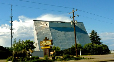 Not many drive-in movies left nowadays.