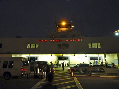 Our trip started at the Long Beach, California airport.
