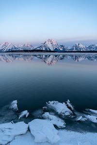 The Thaw (Jackson Lake)