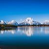 Jackson Lake and Tetons