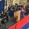 Tewksbury Memorial High School valedictorian Felicia Ragucci. SUN/KORI TUITT