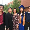 Stephanie Tam, second from right, was the salutatorian of Tewksbury Memorial High School's Class of 2018. She is pictured here with her family. From left to right, Bryan Tam, her brother, Gene Tam, her father, Jennifer Tam, her mother, and Ronald Tam, her brother. She will be attending Worcester Polytechnic Institute. SUN/KORI TUITT