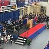 Tewksbury Memorial High School graduate Caitlin Panessiti served as the MC for the Class of 2018's commencement ceremony. SUN/KORI TUITT
