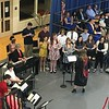"""The Tewksbury Memorial High School Chorus performed the song For Good from """"Wicked"""" at the commencement ceremony for the Class of 2018. SUN/KORI TUITT"""
