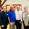 Tewksbury Rotary Club officers, from left, Jim Hickey, Joel Deputat, Jim Carter (president) and John Lyons, all of Tewksbury