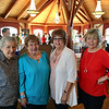 From left, Rita O'Brien Dee, Joan Unger Harmon, Mary-Ann O'Brien Nichols and Cathy Dwyer, all of Tewksbury