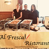 Representing Al Fresca Ristorante are, from left, Deb Iannuzzo and owner Mark Angluin, both of Dracut, and Kimee Humphrey of Wilmington
