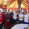The Tewksbury Memorial High School baseball team came to support the cause.