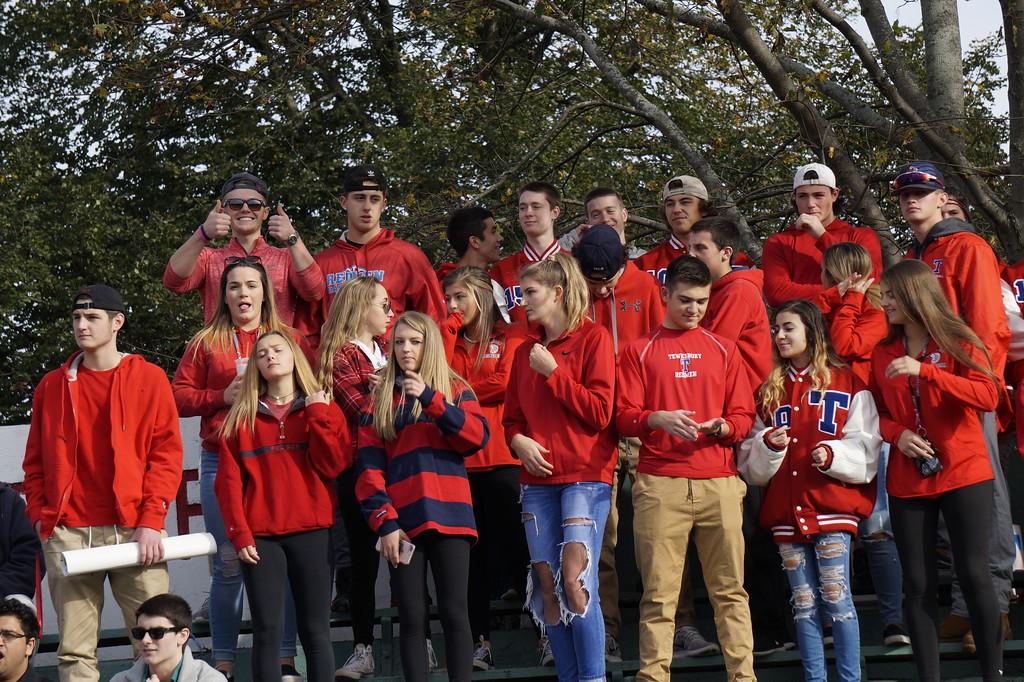 . Tewksbury Redmen vs. Danvers� Falcons MIAA playoff game Saturday, November 4, 2017 at Doucette Stadium, Tewksbury Ma. SUN/KATIE DURKIN