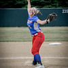 Tewksbury's pitcher, Adriana Favreau throws her pitch to opposing team, Swampscott. SUN/Caley McGuane