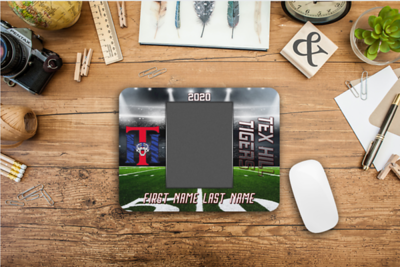 Custom Mousepad with Player Photo