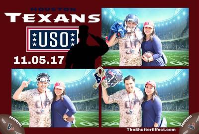 Texans & USO 11.5.17