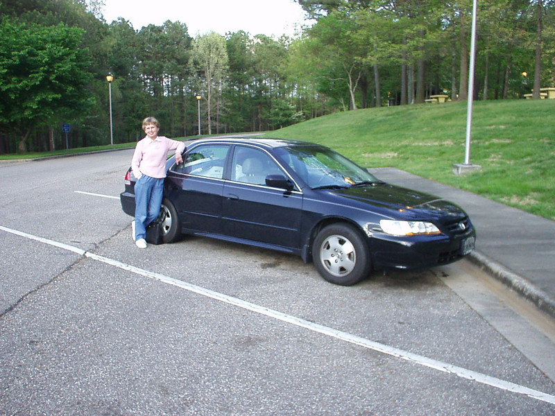 Taken at a rest stop somewhere between Durham and Birmingham, AL, where we spent the night on April 18, 2003.