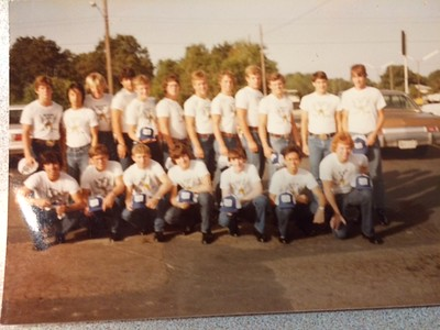 Sq 6 Class of 1986 (August 1982)