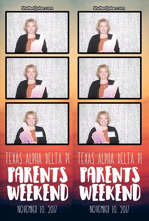 Texas Alpha Delta Pi Parents Weekend 11.10.17