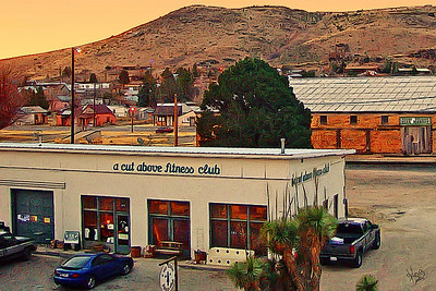 Alpine, TX - View From Holland Hotel