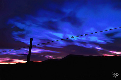 Barbed Wire Sunrise, Alpine, TX