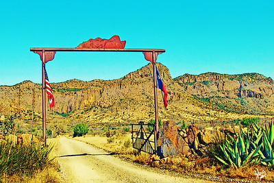 Ranch Gate, Alpine, TX