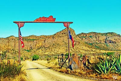 Ranch Gate, Alpine, TX