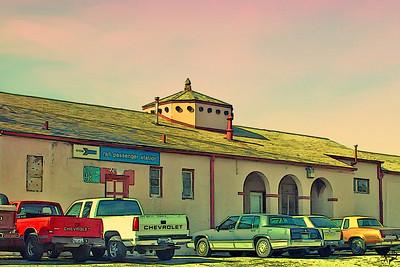 Train Depot in Alpine, TX