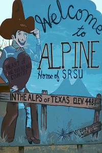 Welcome To Alpine Sign, Alpine, TX