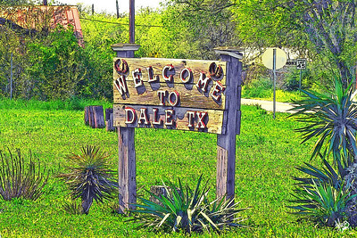 Welcome To Dale, TX