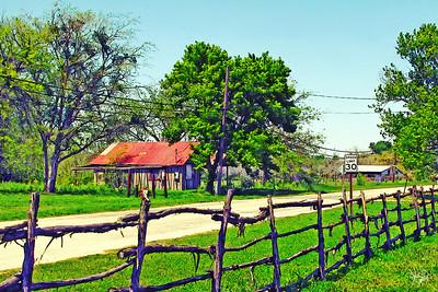 Road in Dale, TX