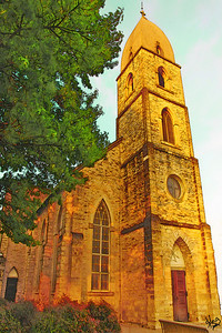 St. Mary's Catholic Church (older one), Fredericksburg, TX