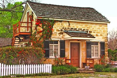 Johann Knopp Home, Fredericksburg, TX.
